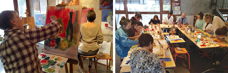 Ecole Enfants Peinture