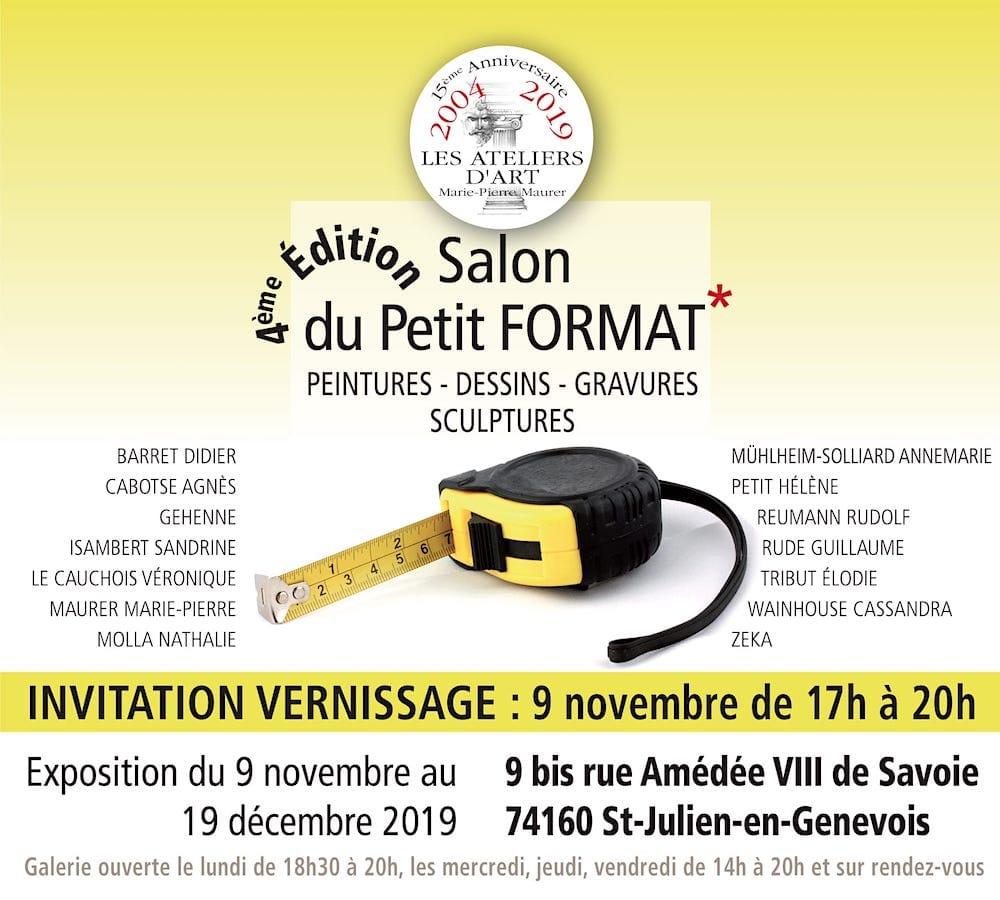 Salon du Petit Format Novembre 2018
