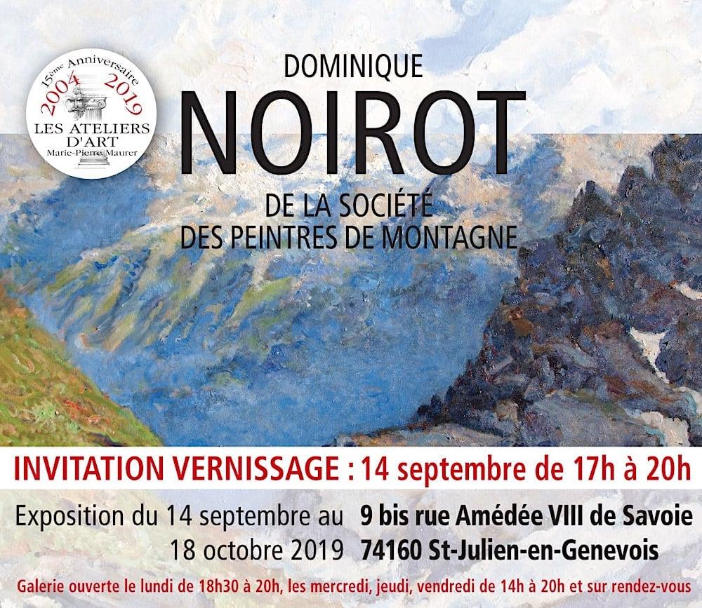 Exposition Dominique Noirot Septembre 2019