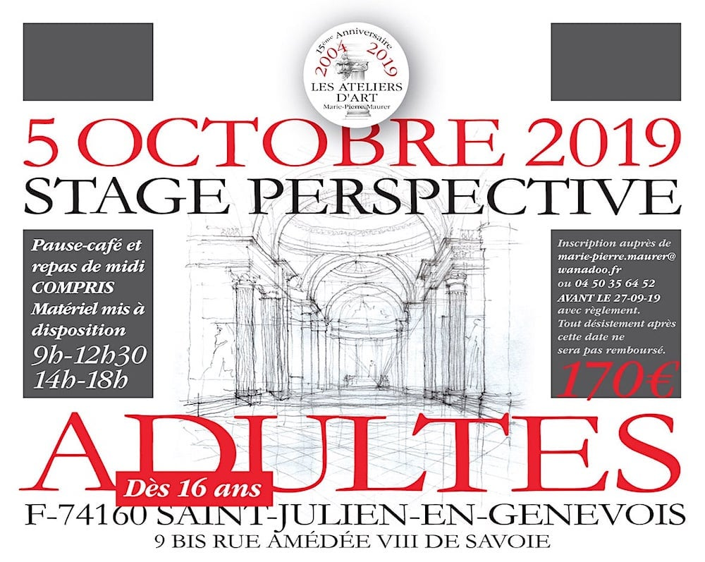 Stage Adulte Perspective Octobre 2019
